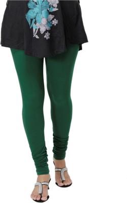 Ankita Women's Dark Green Leggings