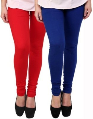 Hirshita Leggingss Women's Red, Blue Leggings