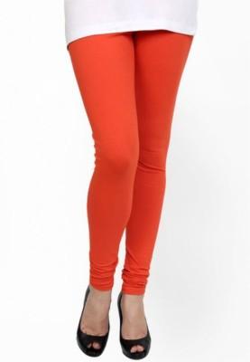 Paranoid Women's Orange Leggings