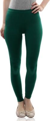 Miss Chase Women's Green Leggings
