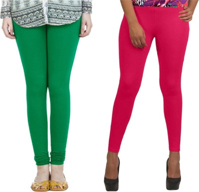 NGT Women's Green, Pink Leggings