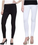 Shiva Collections Women's White Leggings...