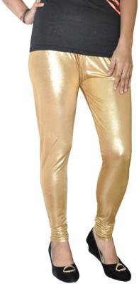 Round Off Women's Gold Leggings