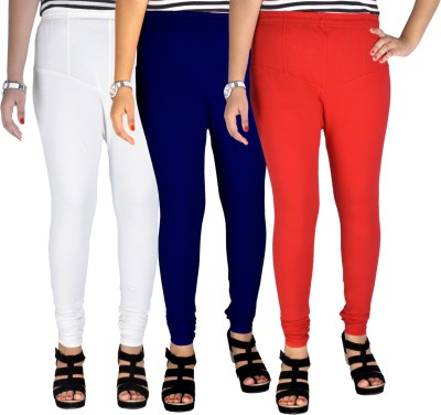 Dolphin Women's White, Red, Blue Leggings