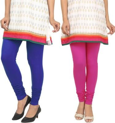 Agrima Fashion Women's Blue, Pink Leggings