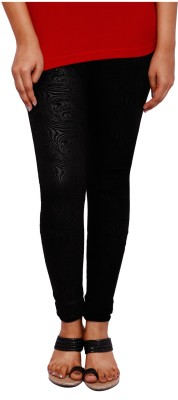 Fine Colors Women's Black Leggings