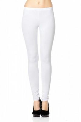 Fashion Eye Women's White Leggings