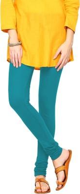 Triveni Women's Light Blue Leggings