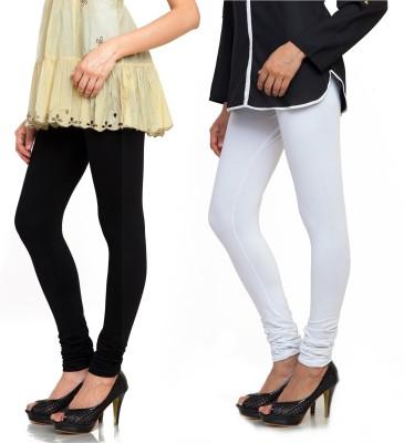 Bulbul Women's Black, White Leggings
