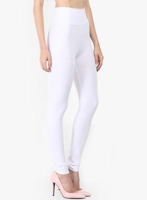 Saree Exotica Women's White Leggings
