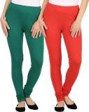 New tastemaker Women's Red, Green Leggin...