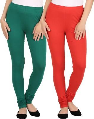 New tastemaker Women's Red, Green Leggings