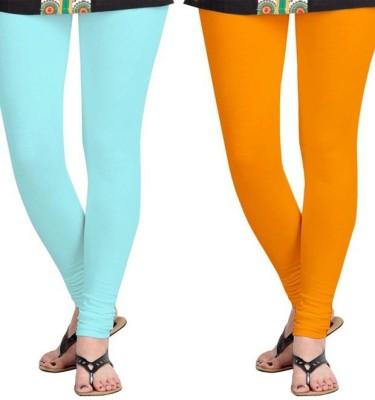 Roshni Creations Women's Blue, Orange Leggings