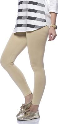 De Moza Women's Beige Leggings
