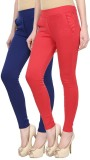 FIFO Women's Multicolor Treggings (Pack ...