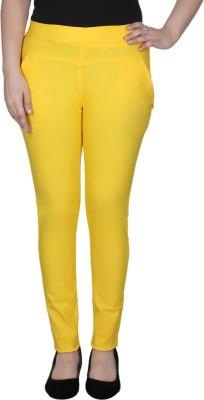 La-Paris Women's Yellow Jeggings