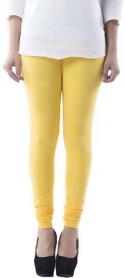 Lakos Women's Yellow Leggings