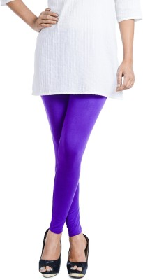 Ethnic Bliss Lifestyles Women's Purple Leggings