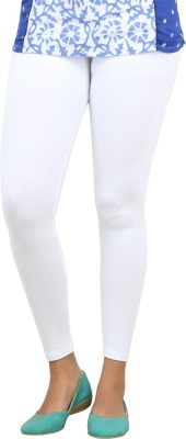Bottoms More Women's White Leggings