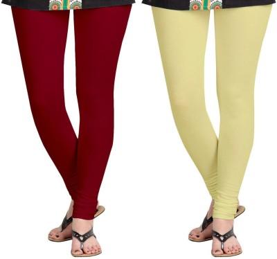 AF Sayonara Women's Maroon, Beige Leggings