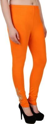 You Forever Women's Orange Leggings
