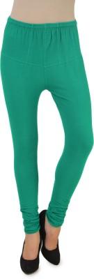 One Femme Women's Dark Green Leggings