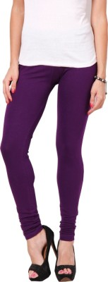 Adam n Eve Women's Purple Leggings