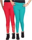 Xarans Women's Multicolor Jeggings (Pack...