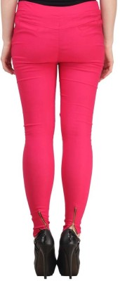 Fashion Arcade Women's Pink Jeggings