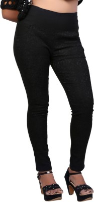 Velveeta18 Women's Black Jeggings