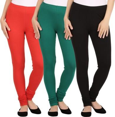 New tastemaker Women's Black, Green, Red Leggings