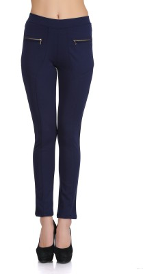 Ozel Studio Women's Blue Jeggings