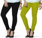 Arma Women's Black, Green Leggings (Pack...
