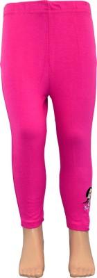 Chhota Bheem Girl's Pink Leggings