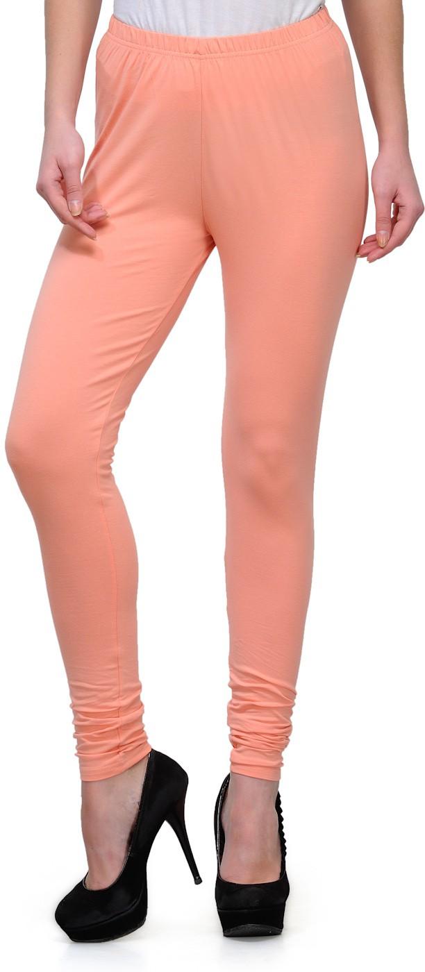 Ffu Womens Orange Leggings