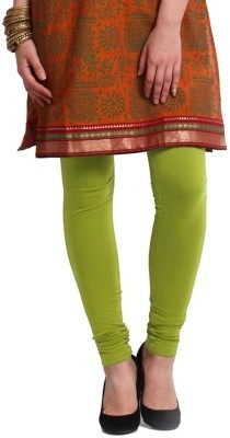 MeritFashion Women's Green Leggings
