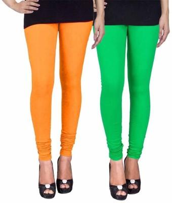 Ayesha Fashion Women's Yellow, Green Leggings