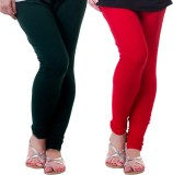 Archway Women's Green, Red Leggings (Pac...