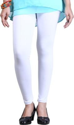 ZyCra Women's White Leggings