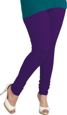 I-Diva Women's Purple Leggings