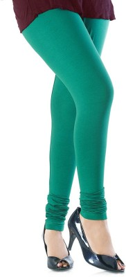 shreemangalammart Girl's Green Leggings
