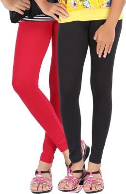 Be Style Women,s Red, Black Leggings