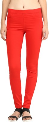 La Rochelle Women's Orange Jeggings