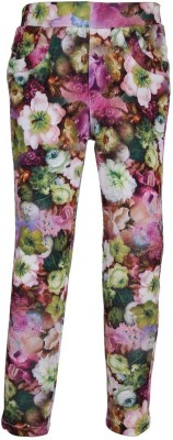 LEI CHIE Girl's Multicolor Jeggings