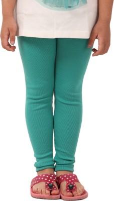 Pretty Angel Girl's Green Leggings