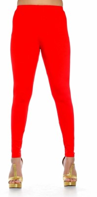 Blue-Tuff Women's Red Leggings