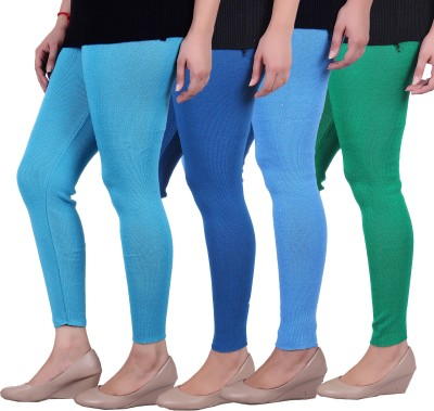 Sellsy Women's Blue, Green Leggings