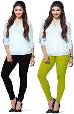 Amul Florio Women's Dark Green, Black Leggings