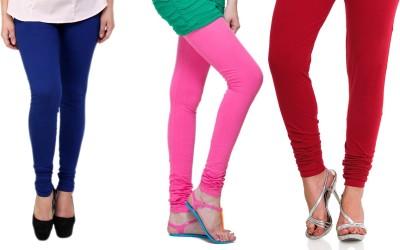 Lienz Women's Blue, Pink, Red Leggings