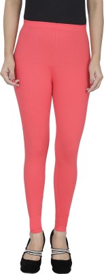 Anekaant Girl's Pink Leggings